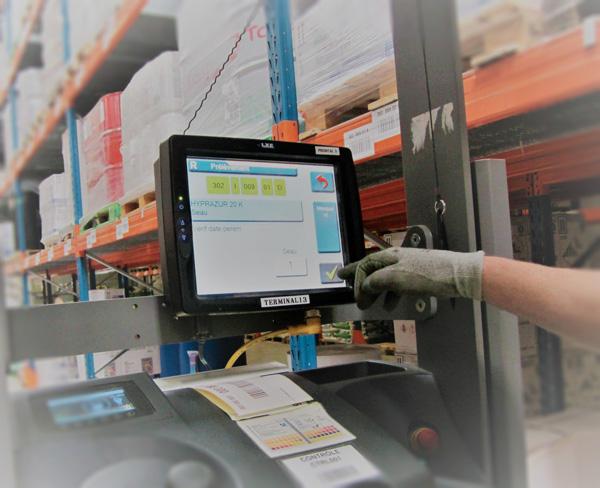 Sté Odalis - L'informatique embarquée pour la gestion automatisée des entrepôts