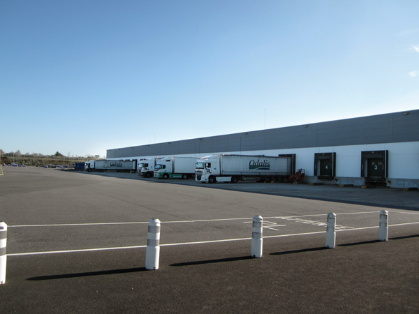Sté Odalis - Le service logistique et les trransports
