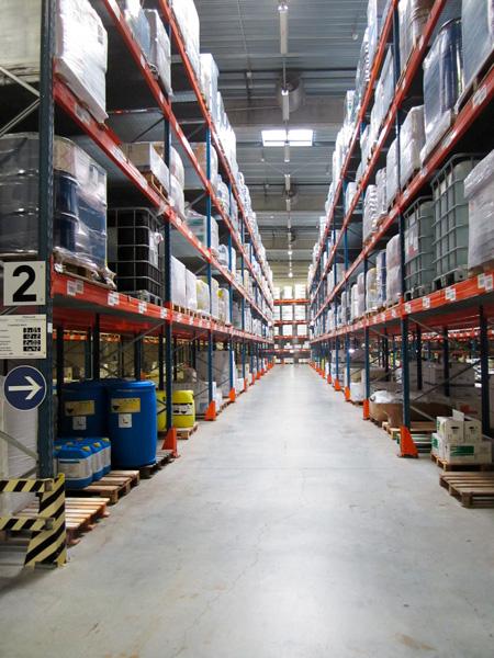 Sté Odalis - Zone de stockahe de certains produits